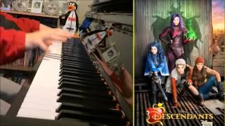 Descendants Cast Rotten To The Core Descendants Disney Amosdoll Piano Cover.mp3