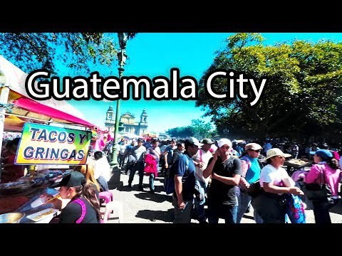 Walk Historic Center Guatemala City 2018 (Zona 1)