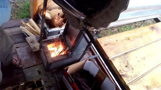 race to 350 degrees: rocket oven v electric oven