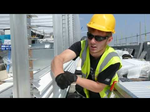 WPL (UK) 2016 Rooftop Aluminium Structure at IBIS Styles London Hotel