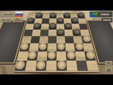 Реальные Шашки (Real Checkers)(Android) - gameplay.