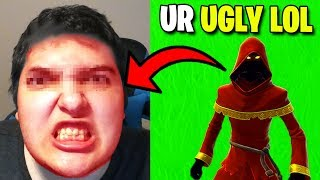 Using FACECAM For The First Time.. - Fortnite