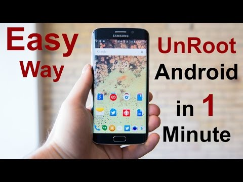 How To UNROOT Android Phone Easily 2019 by Fahed Zaman