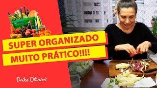 COMO ORGANIZO TEMPEROS E COMIDA FITNESS + (Tempero natural que uso na marmita fit) #Vídeo 2