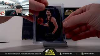 2018-19 PANINI DOMINION BASKETBALL DUAL HOBBY BOX RANDOM SERIAL # GROUP BREAK #1