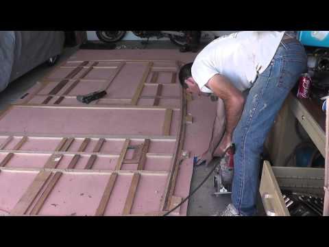 Vintage Shasta Camper Trailer Restoration - Part 4 - Building A Wall Between Us