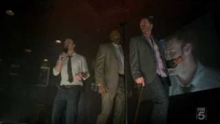 House, Chase, Foreman at karaoke bar singing Midnight Train to Georgia[HQ]