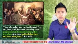 Forgotten SECRETS to the Disciples of Christ and Early Church!