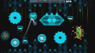 Geometry Dash - Forsaken Neon 52% stupid fail