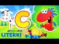 nauka literek dla dzieci ze Smokiem Edziem - litera C - bajka edukacyjna