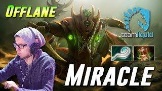Miracle Sand King - Offlane Gameplay - TOP MMR Dota 2