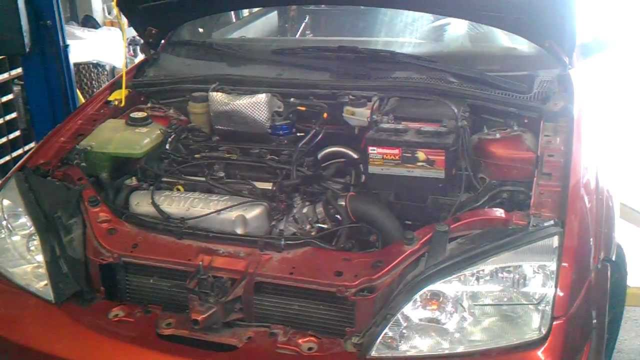 Cosworth 2 3 Duratec Focus Turbo First Fire