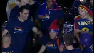 Drunk Lionel Messi At FC Barcelona Party
