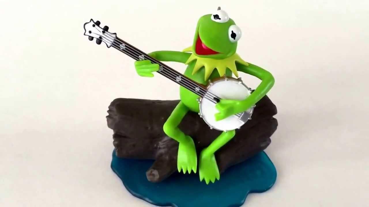 Hallmark The Rainbow Connection Kermit Frog Muppets Christmas ...