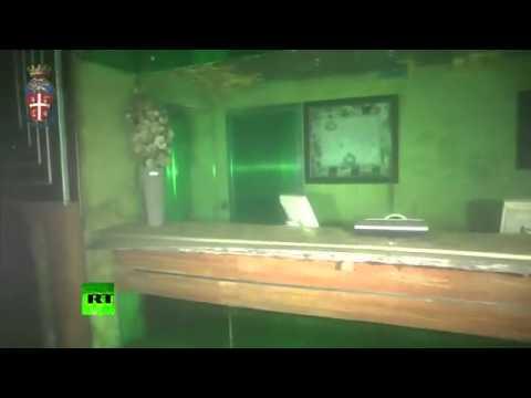 Diver shipwreck footage: Inside submerged Costa Concordi
