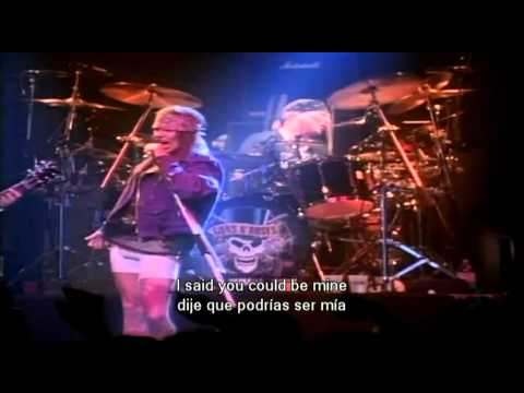 Gun's And Roses - You Could Be Mine - Subtitulado Ingles-español