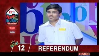Spell Bee- India Spells 2012 - 1