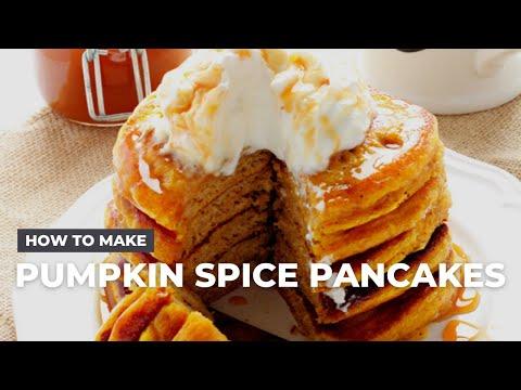 Pumpkin Spice Pancakes Recipe