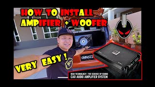 How to install car woofer |cara-cara memasang woofer |如何安装汽车音响