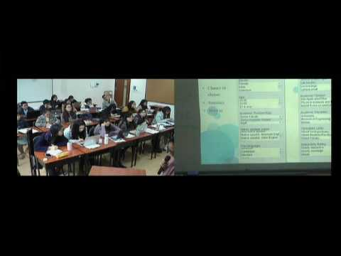 presentation about MICASE