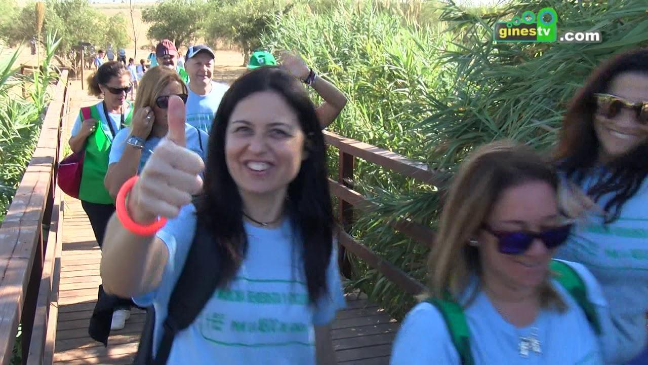 II Marcha Senderista y Cicloturista por la Asociación Española Contra el Cáncer de Gines