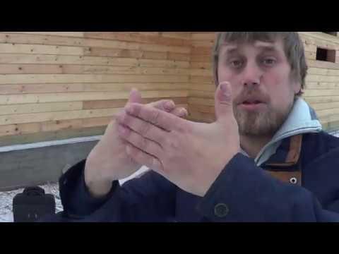 Видео строительства дома из бруса 8х8. Зимний брус