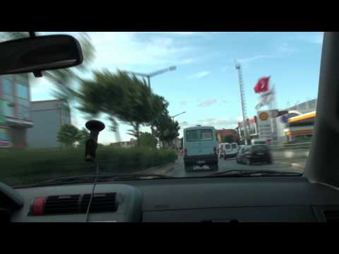 Traveling in İstanbul - From Çamlıca to Çengelköy  in 90 seconds