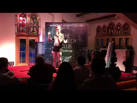 Vasanth Seshadri standup comedy on Singapore's colonial history