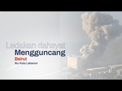 Ledakan dahsyat Mengguncang Beirut, Ibu Kota Lebanon