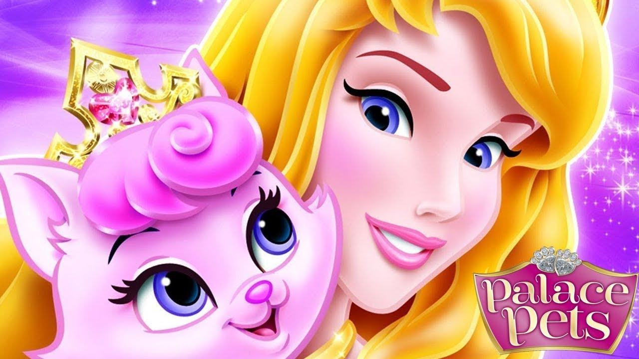 Aurora Becomes A Cat Person games-disney princess dress up games