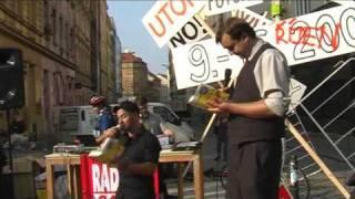 Zažít město jinak 2009 -- pouliční festival a cyklojízda v Praze