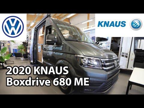Knaus Boxdrive 680 ME 2020 Camper Van 6,84 M