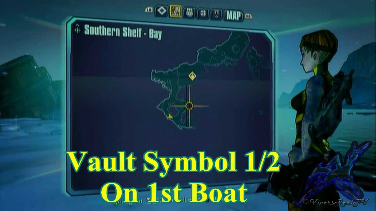 Borderlands 2 Southern Shelf Bay Vault Symbols Youtube