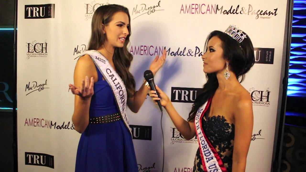 Miss California Teen USA Melanie Mitchell-Red Carpet Interview
