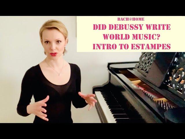 Debussy's Estampes: Introduction. Magdalena Baczewska, piano; Bach@Home