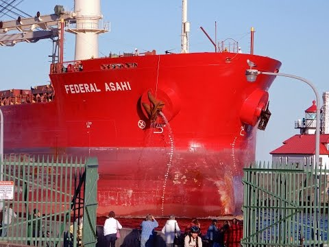 Federal Asahi Hong Kong Ship Duluth-Minnesota-Port