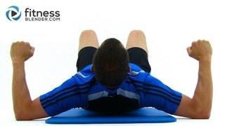 Brutal 35 Minute Bodyweight Workout - Fitness Blender Functional Strength Training