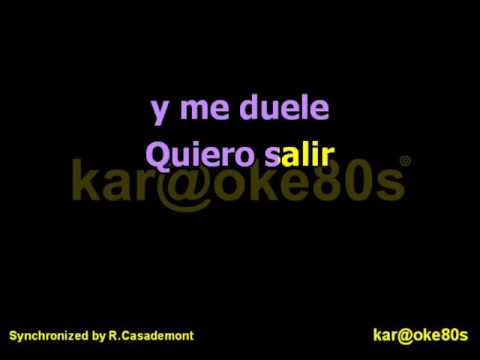 Karaoke Vencer Al Amor Estilo India Martinez