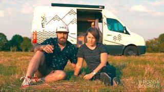 ROAD&BOARD Vorstellung vom VW Crafter DIY Campervan Projekt Roomtour