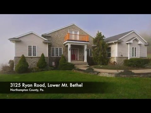 Ranch Home for Sale at 3125 Ryan Road, Lower Mt. Bethel, Pa.