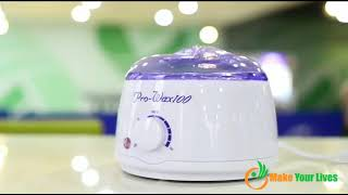 Baixar Pro wax 100_hair removal wax machine
