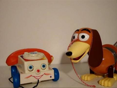 Soundout Review - Toy Story Week Day 3 - Slinky Dog And Chatter Telephone