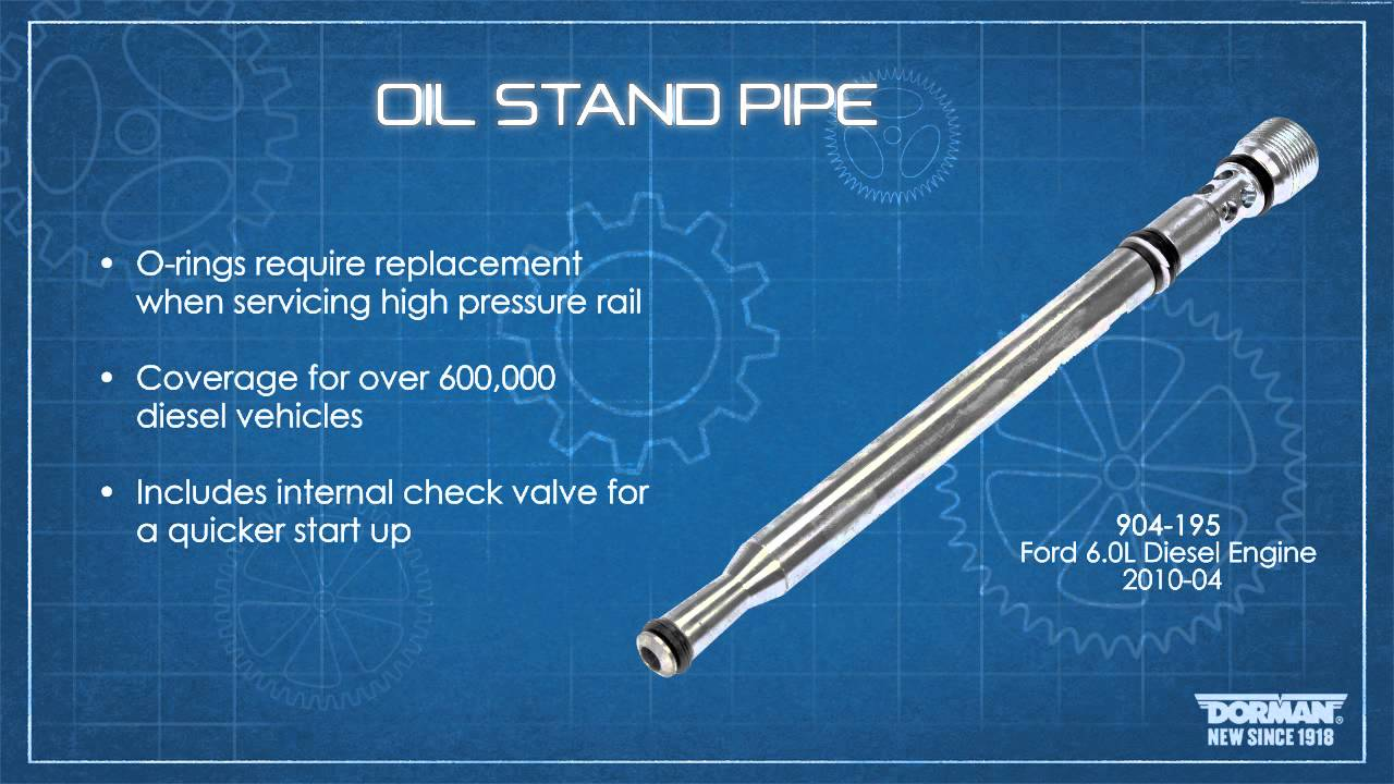 Engine Oil Stand Pipe