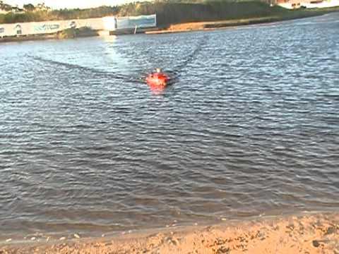 Remote Control Hydrographic Survey Boat