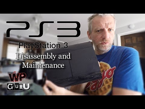 Disassembling my PlayStation 3 to apply new Thermal Paste (Time-lapse)