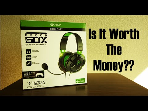Turtle Beach Recon 50x Headset Review