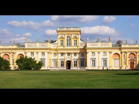 Pałac w Wilanowie - Wilanów Palace - Warszawa - Polska