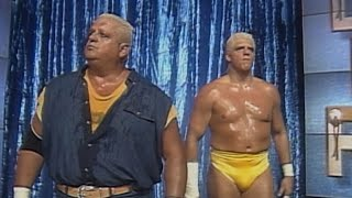 Dustin Rhodes teams up with his dad Dusty Rhodes at WCW Clash of the Champions XXVIII (WWE Network)