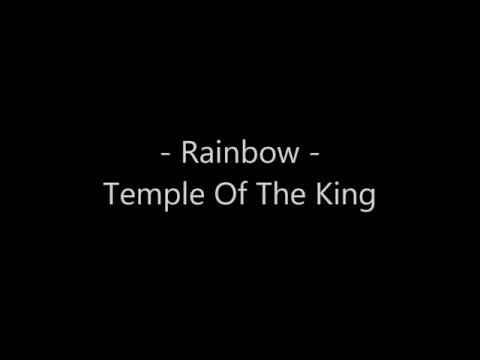 Rainbow -  Temple of The King lyrics (karaoke)