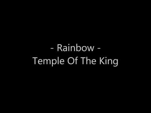 Rainbow -  Temple of The King lyrics (karaoke)
